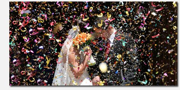 Avoir le sens du spectacle et de la fête de mariage