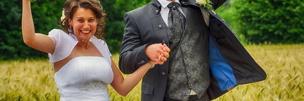 Une jolie vidéo de mariage à la ferme