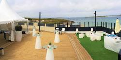 6-  Terrasses de l'Aber - Salle à Saint Pabu en bord d mer : 180 couverts