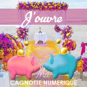 Mariage participatif & Cagnotte Numérique