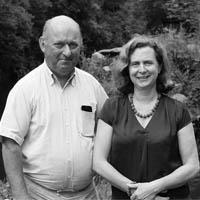 M et Mme Du Laz Chateau de Pratulo Cleden Poher